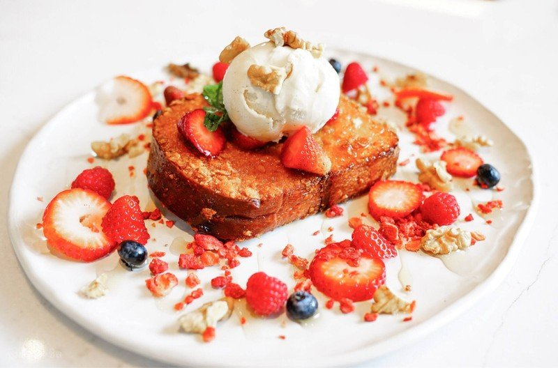Crsipy French Toast