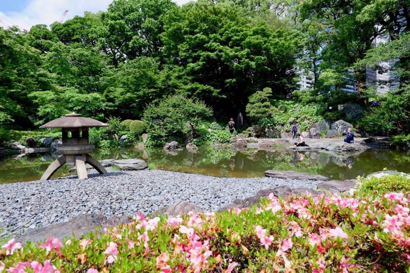 นิโนะมารุเทเอ็ง สวนเล็กๆภายในสวนทางทิศตะวันออกที่สวยงามมาก