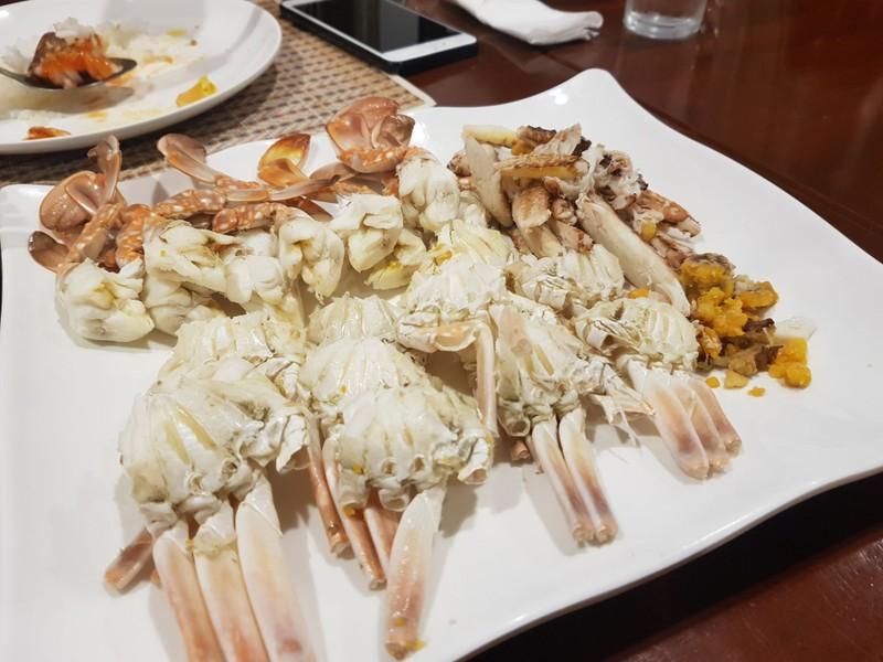 ปูม้า 4ตัวโล แกะพร้อมทาน ราคาจานนี้ 850 ทานง่าย ปูหวานสดอร่อย