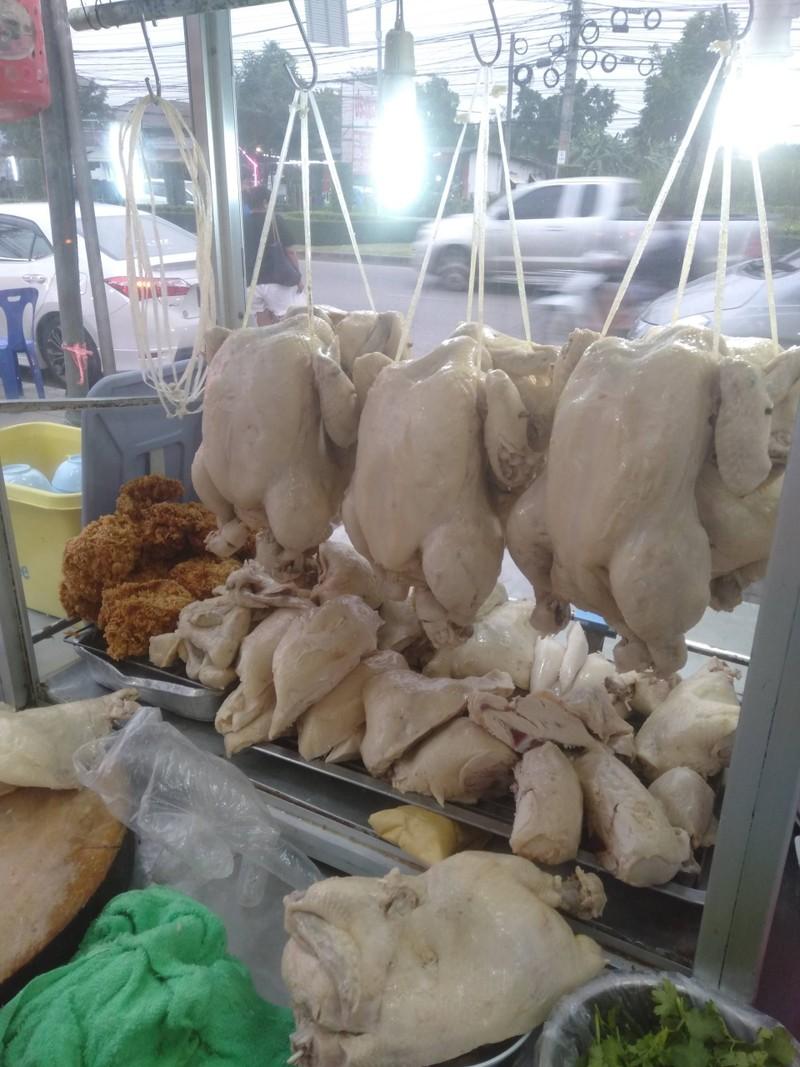 ข้าวมันไก่ตอน ข้าวมันไก่ทอด