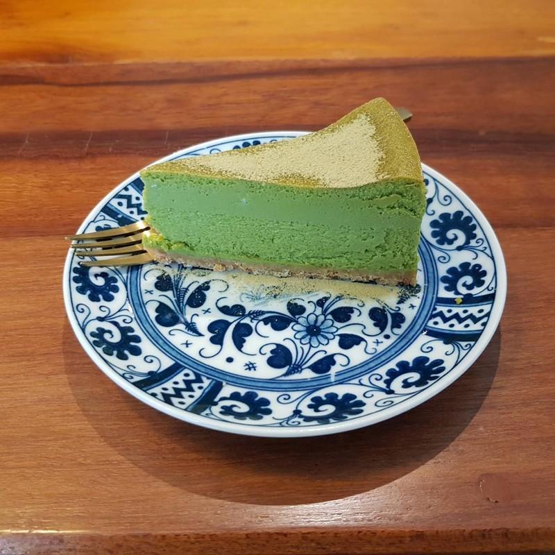 ชีสเค้กชาเขียว