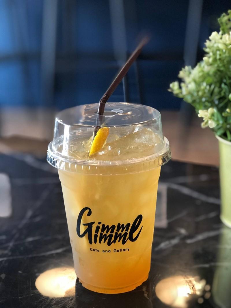 Oolong Honey Lemon Tea