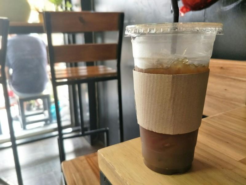 เจออากาศร้อนๆแล้วมาสั่งเมนูนี้กิน ชื่นใจมากบอกเลย ปล.กาแฟเค้าเข้มจริงจังนะเตือนไ