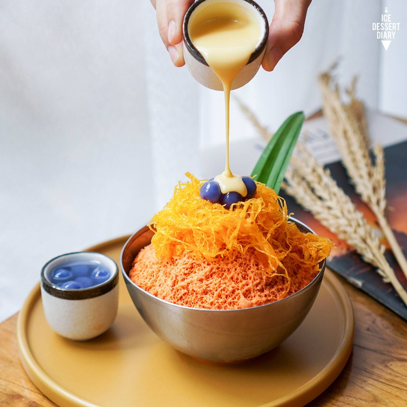 บิงซูชาไทยไข่เค็ม