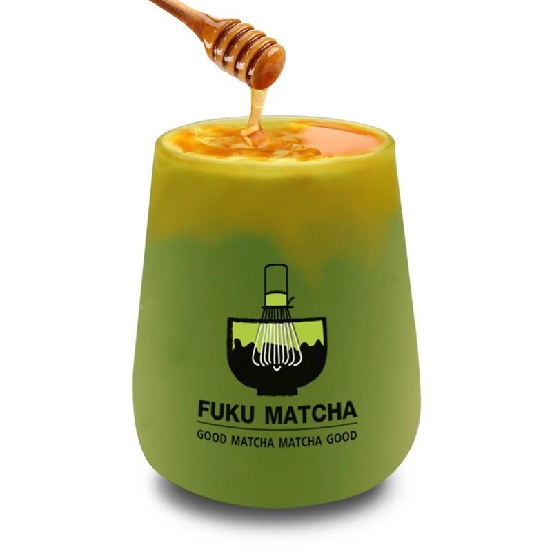 พรีเมี่ยมมัทชะรสน้ำผึ้งมะนาว