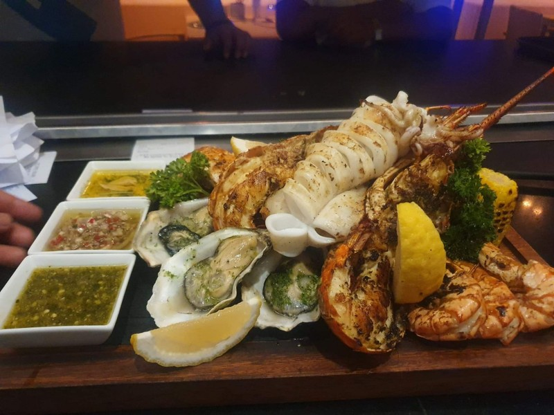 Mixed Grill Seafood