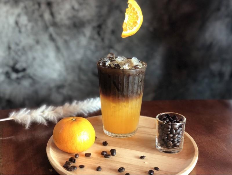 Orange Black Coff