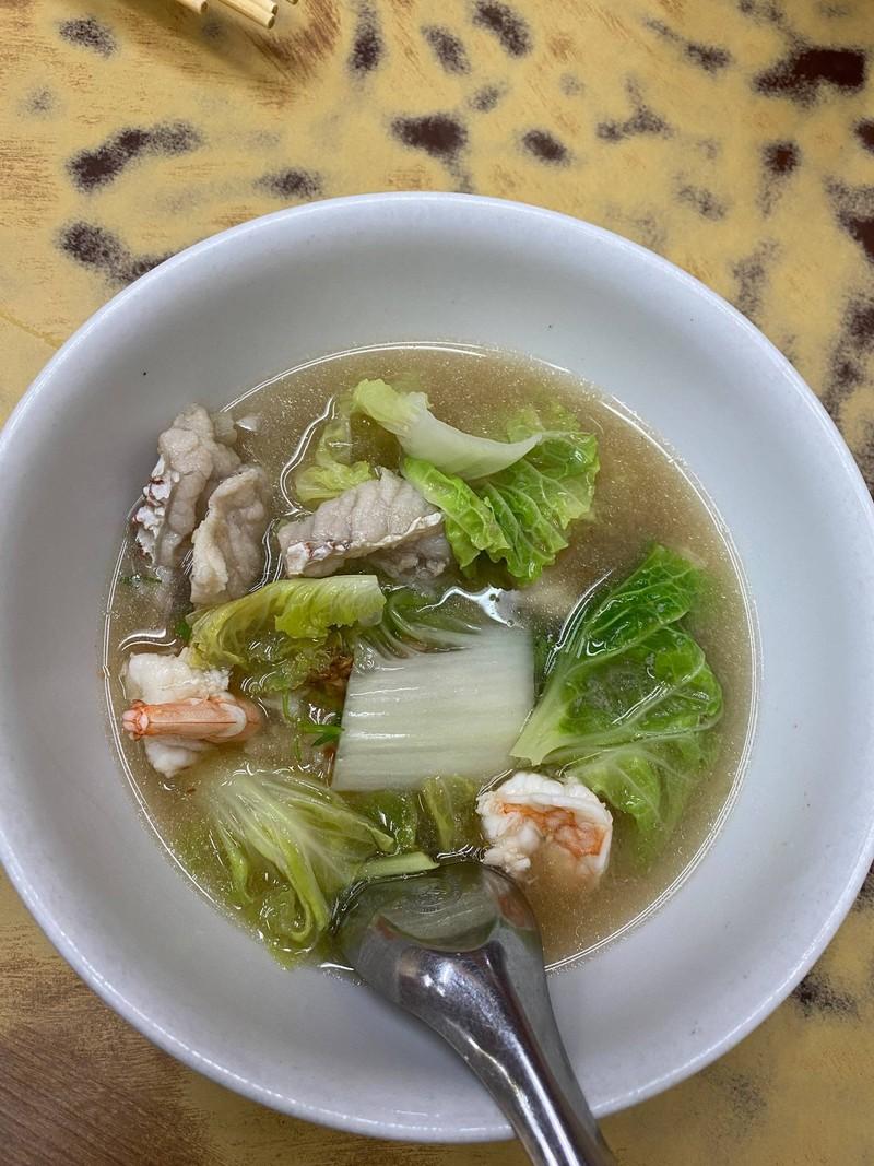 ข้าวต้มกุ้ง+ปลา