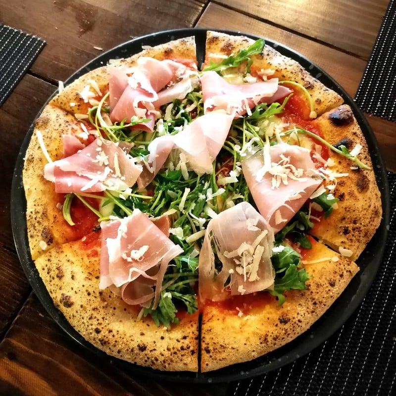 Rocket & Parma Ham Pizza