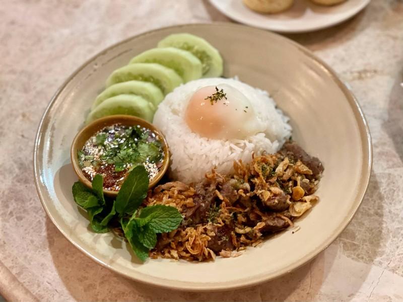 Grilled Pork Neck (Rice Lunch)