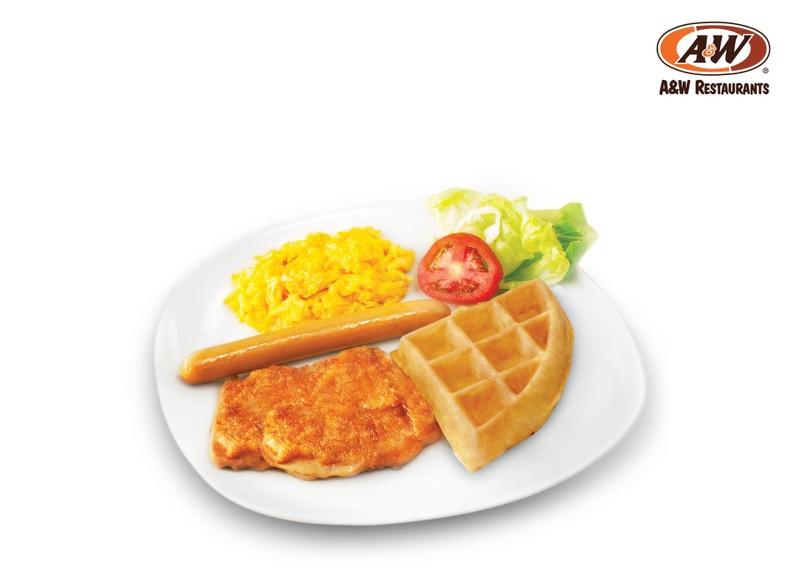 Grilled Chicken Breakfast