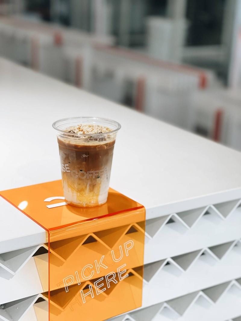 Orange Wafer Latte