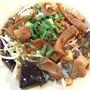 ก๋วยเตี๋ยวหลอดพรชัยเยาวราช (Rice noodles with pork , squid and mushroom)