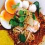 เตี๋ยวยำ ไข่ลาวา (Noodle Tomyum egg Lava)