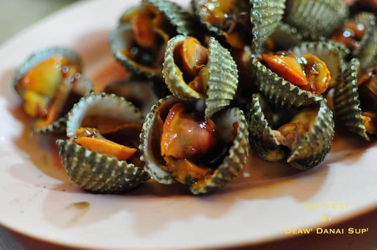 ป้าจิน หอยแครงลวก ซอยเท็กซัส