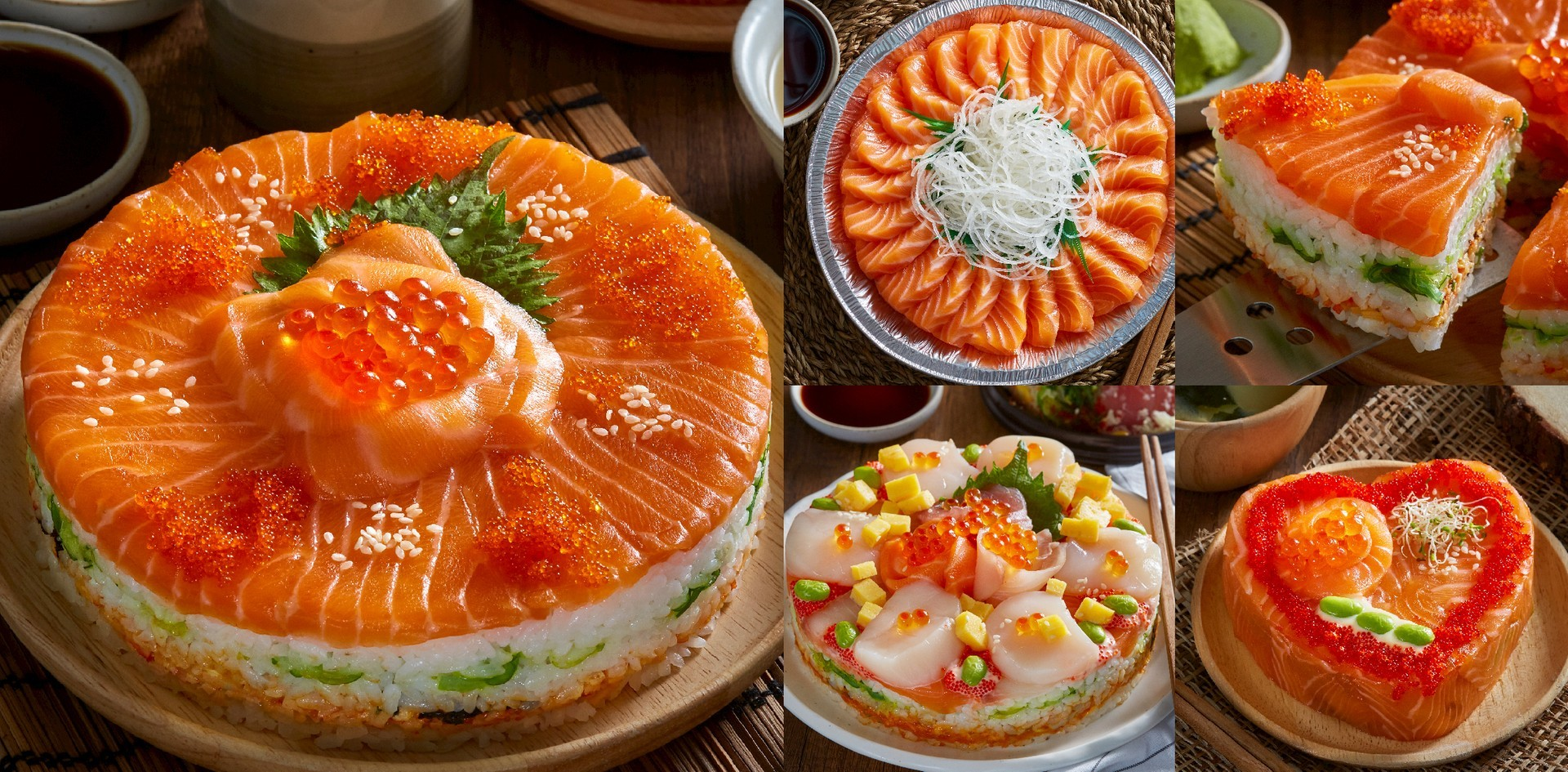 """ปาร์ตี้นี้สนุกล้ำกว่าใคร! เค้กแซลมอน ที่แรกในไทย @ """"SALMONKUN"""""""