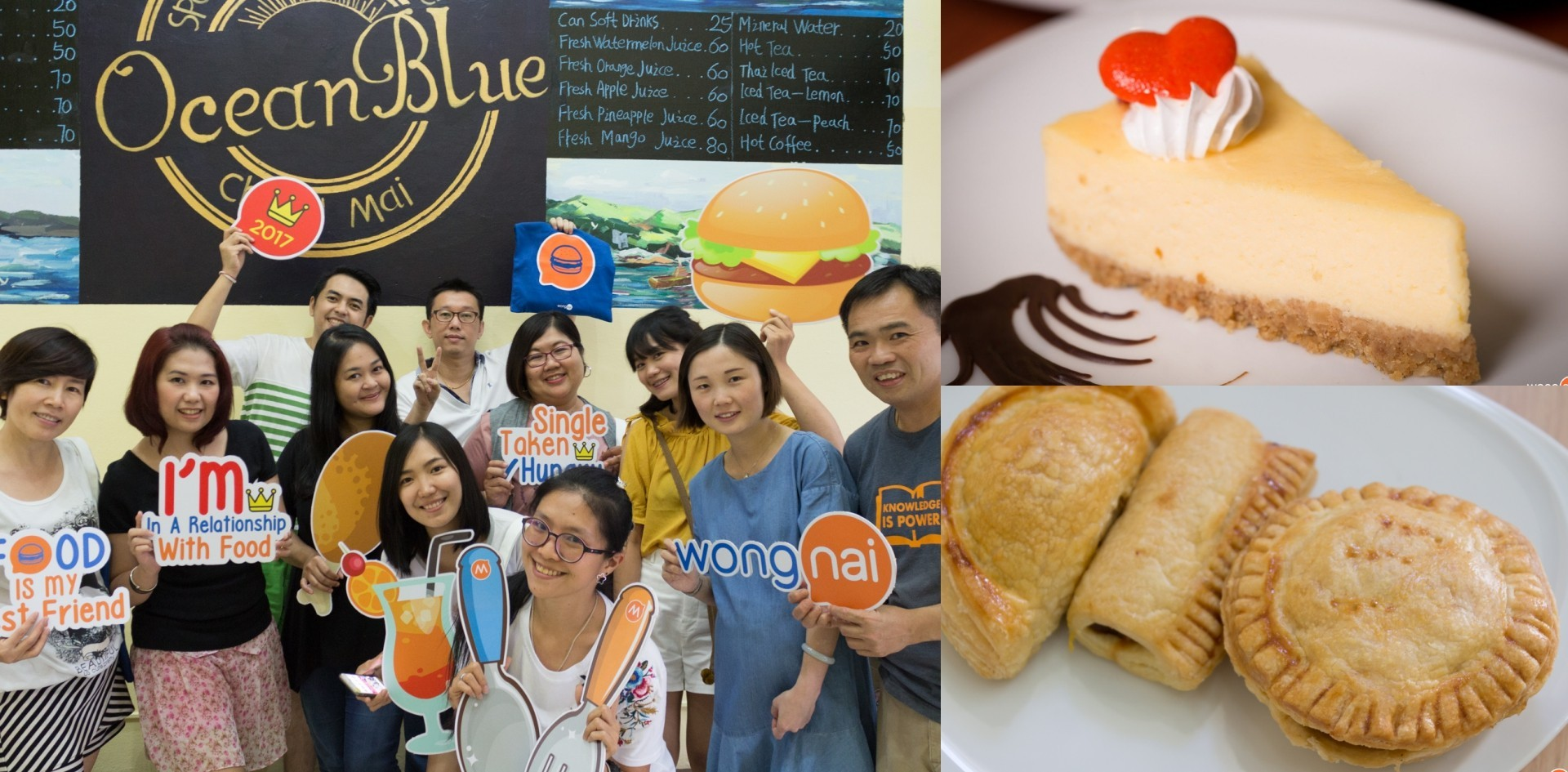 Wongnai Chiang Mai Top User Party#30 @Ocean Blue Bakery Cafe