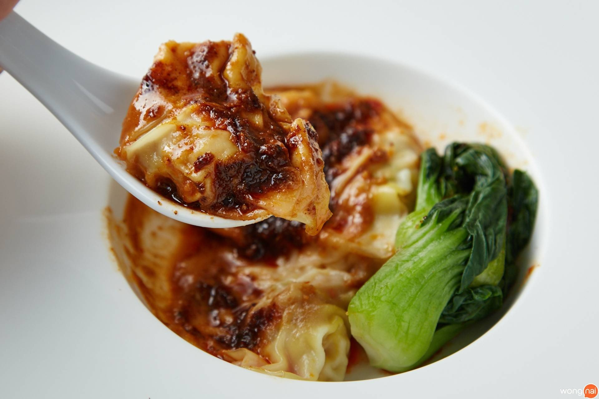 "เมนู ""Chinese Wonton With Spicy Sesame Sauce"" ของร้าน ""Miyu Ginza"""