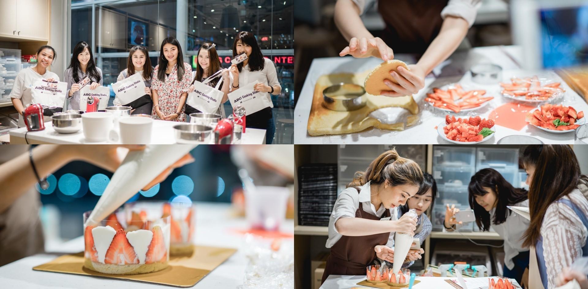 Wongnai Cooking Workshop ทำขนมสไตล์ญี่ปุ่นที่ ABC Cooking Studio