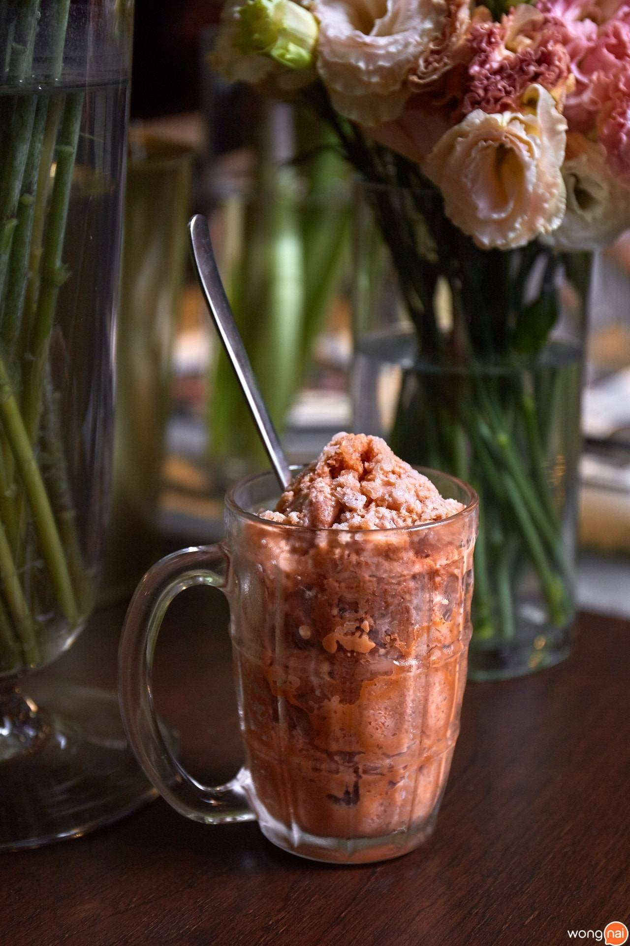 Thai Tea Granita Greyhound