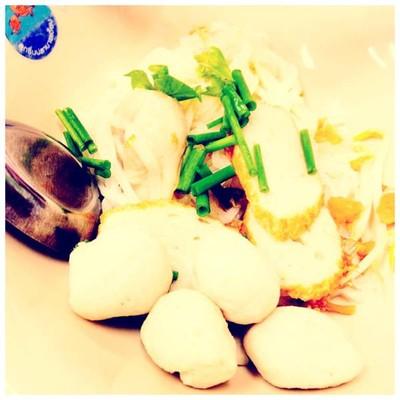 ลูกชิ้นปลานายเงี๊ยบ (Naingieb Fish Ball Noodle) บางขุนนนท์