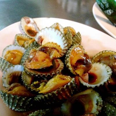 ป้าจิน หอยแครงลวก (Pa Jin Hoi Krang Luok) ซอยเท็กซัส