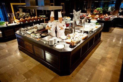 ห้องอาหารแมริออท คาเฟ่ โรงแรมเจดับบลิว แมริออท กรุงเทพ
