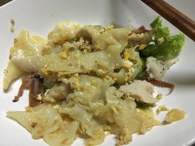 ก๋วยเตี๋ยวคั่วไก่กระทะทองเหลือง (Kuay Teow Kua Kai Ka Ta Tong Leng) เยาวราช
