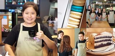 อีกขั้นของคาเฟ่! ร้านขนมที่ช่วยเหลือเด็กพิเศษที่ Steps with Theera