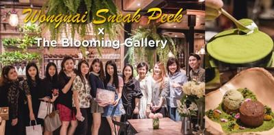 Wongnai Sneak Peek x The Blooming Gallery