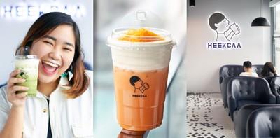 """เชิดหน้าแล้วยกซด! """"Heekcaa"""" ร้านชาชีสเจ้าแรกในไทยที่ฮอตสุดในนาทีนี้"""