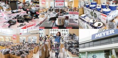 ลดกระหน่ำ 70% สินค้าเครื่องครัว 7 วันสุดท้ายก่อนย้ายโชว์รูมที่ MEYER