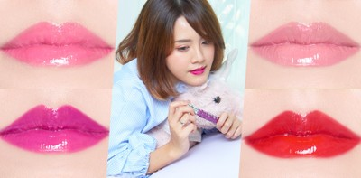 [รีวิว] ลิปสติกเนื้อวาว 13 สี สไตล์สาวญี่ปุ่น