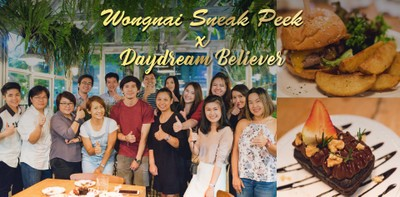 Wongnai Sneak Peek x Daydream Believer