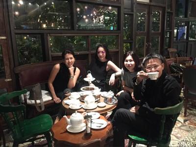 บรรยากาศร้าน ที่ ร้านอาหาร Thé Tea House Bangkok ช่างชุ่ย
