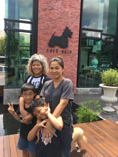 บรรยากาศร้าน ที่ ร้านอาหาร Cafe Noir Ngamwongwan 44