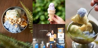 """สูตรลับ 50 ปี ไอศกรีมกะทิ ฮิปเสตอร์รุ่นพ่อ """"MEK Ice cream"""" ชลบุรี"""
