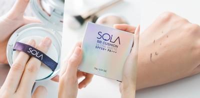 [แกะกล่อง] 'คุชชั่นเนื้อครีมแป้ง' ตัวใหม่จาก Sola กลบสิว ลดผิวมัน!
