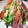 rocket salad กับพาร์ม่าแฮม