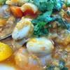 หอยเชลล์ผัดไข่เค็ม