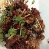 ปูนิ่มผัดกระเทียมพริกไทยดำ