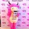 น้องวัวสีชมพูในวันเปิดตัวที่พารากอน