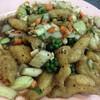 ปลากระพงผัดพริกไทยดำ