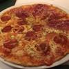 พิซซ่าครึ่งล่าง Pepperoni