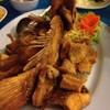 ปลาทับทิมทอด (แยกน้ำเปรี้ยวหวาน)