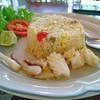 ข้าวผัดปลาหมึก