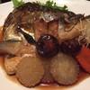 หัวปลาแซลมอนต้มซีอิ๊ว !!