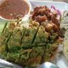 ข้าวผัดกะปิ ปลาทู หมูหวาน
