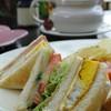 Club Sandwich • Vieng Joom On Tea House เชียงใหม่ ชีส +ไข่หนา ๆ
