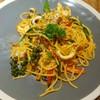 Spaghetti spicy seafood